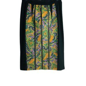 ANTHROPOLOGIE MAUVE Pencil Skirt back zipper SZ 6
